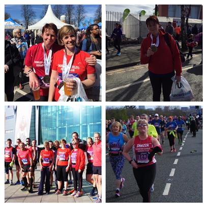 TCRC at Manchester Marathon 2016